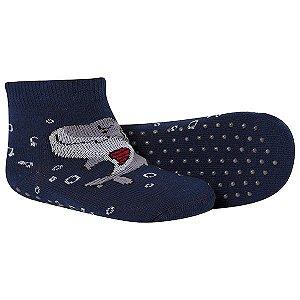 Meia Comfort Socks Antiderrapante Masculino Marinho Winston