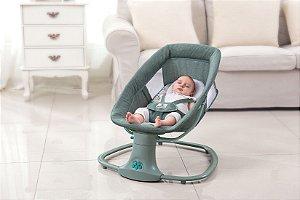 Cadeira Swing Automática com Bluetooth Verde - Mastela