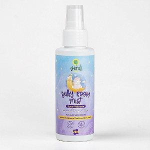 Baby Room Mist Spray Relaxante Aromaterapeutico com Hidrolato de Melissa e Oleo Essencial de Lavanda