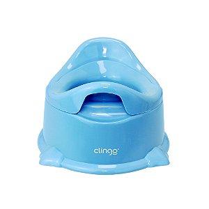 Troninho Infantil Potty Azul - Clingo