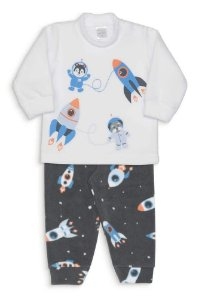 Pijama Microsoft Foguetes Dedeka