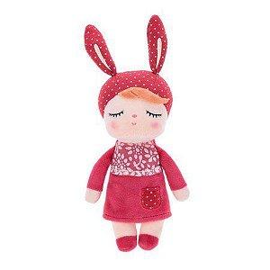 Boneca Mini Doll Angela Bordô 20cm Metoo