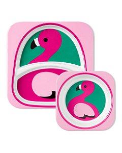 Set de Pratos Zoo Flamingo Skip Hop