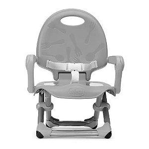 Cadeira de Refeição Pocket Snack Dark Grey Chicco