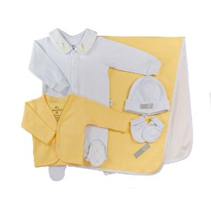 Saida Maternirdade Luxo Menino Amarela D`bella for Baby