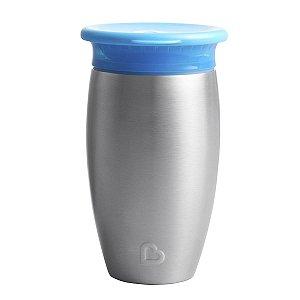 Copo Termico Inox 360 Azul Munchkin