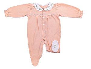 Macacão Luxo Menina Nude D`Bella for Baby