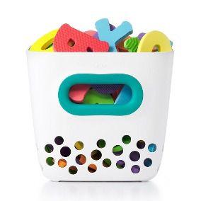 Porta Brinquedos de Banho Verde Azulado - Oxotot