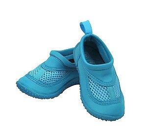 Sapato de Verão Neoprene Infantil Azul Claro - Iplay