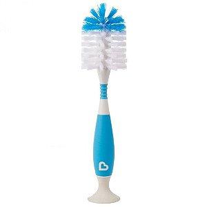 Escova Flexível com Ventosa - Munchkin Azul