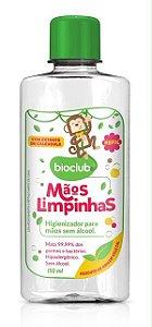 Higienizador para Mãos s/ álcool 150ml Refil - Bioclub