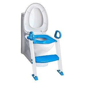 Redutor de Assento Sanitário com Degrau - Clingo Azul