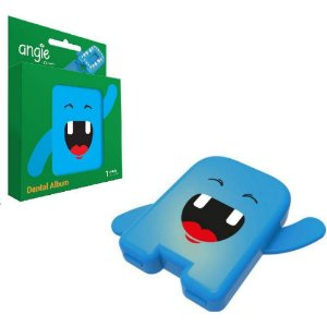 Estojo porta Dentinhos - Angie Azul
