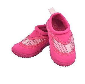 Sapato de Verão Neoprene Infantil Rosa - Iplay