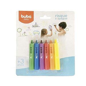 Brinquedo de Banho Risque e Apague Buba