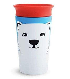 Copo de Treinamento 360° Wild Urso Polar 270ml - Munchkin