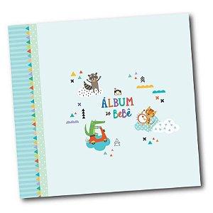 Álbum do Bebê Bichinhos Verde - Coloré