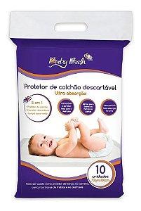 Protetor Descartável de Colchão 10 peças - Baby Bath