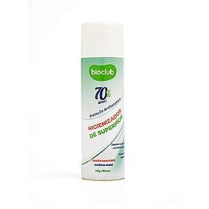 Higienizador de Superfícies Aerosol Álcool 70% Bioclub