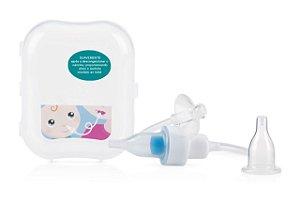 Aspirador Nasal com Filtro e Estojo Transparente Nuby