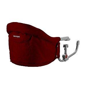 Cadeira de Alimentação de Encaixe em Mesa Easy Firm Vermelho Weego