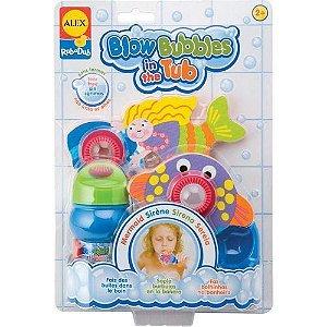 Brinquedo de Banheira - Sereia Bolinhas de Sabão - Alex Toys