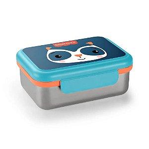 Pote Bento Box Aço Inox Hot e Cold Azul Fresh Fisher Price