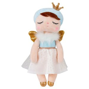 Boneca Angela Angel Azul 33cm Metoo