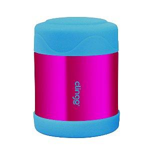 Pote Térmico Inox Azul Rosa Clingo