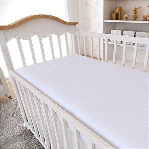 Lençol Avulso 200 Fios Mami com Elástico 130x70cm Branco