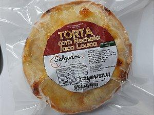 *A TORTA COM RECHEIO DE JACA LOUCA  - 160g