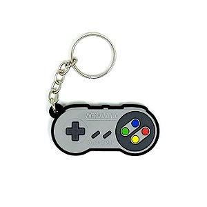 Chaveiro Controle Super Nintendo SNES