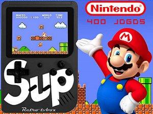 Mini Game Sup Portátil Retro 8bits com 400 jogos