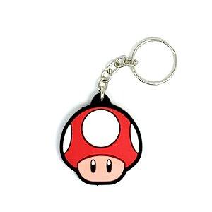 Chaveiro Cogumelo Power Super Mario World