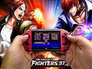Mini Game Portátil Modelo PSP Com 3000 Jogos Na Memória