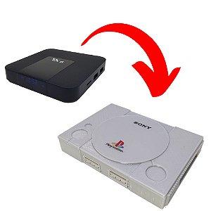 Case ABS Premium Modelo PlayStation Para TX9 e TX3 mini
