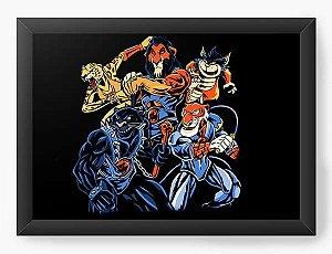 Quadro Decorativo A4 (33X24) Geekz Thundercats - Loja Nerd e Geek - Presentes Criativos