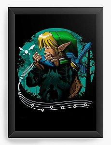 Quadro Decorativo A4 (33X24) Geekz Legnd Elf - Loja Nerd e Geek - Presentes Criativos