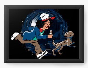 Quadro Decorativo Stranger Things Dustin