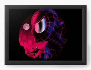 Quadro Decorativo A4 (33X24) Geekz Aracnídeo - Loja Nerd e Geek - Presentes Criativos