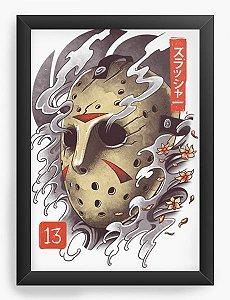 Quadro Decorativo A4 (33X24) Geekz We Jason 13 - Loja Nerd e Geek - Presentes Criativos