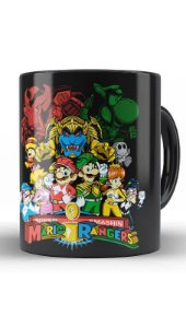 Caneca Geekz Meninas Plumber  e Rangers - Loja Nerd e Geek - Presentes Criativos