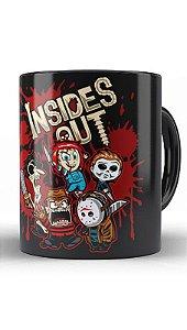 Caneca Geekz Freddy Krueger E Jason - Loja Nerd e Geek - Presentes Criativos