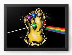 Quadro Decorativo A4 (33X24) Geekz Vingança  - Loja Nerd e Geek - Presentes Criativos