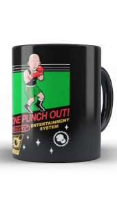 Caneca Geekz One Punch out! - Loja Nerd e Geek - Presentes Criativos