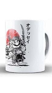 Caneca  Geekz Plumber  Samurai - Loja Nerd e Geek - Presentes Criativos
