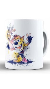Caneca Geekz Crash Bandicoot Game - Loja Nerd e Geek - Presentes Criativos