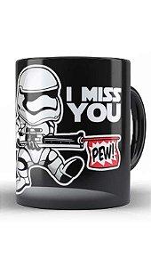 Caneca Geekz Space Wars I miss you - Loja Nerd e Geek - Presentes Criativos