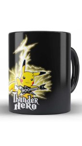 Caneca Geekz Pikachu Hero - Loja Nerd e Geek - Presentes Criativos