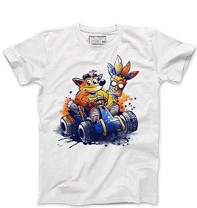 Camiseta Masculina Crash Bandicoot - Loja Nerd e Geek - Presentes Criativos